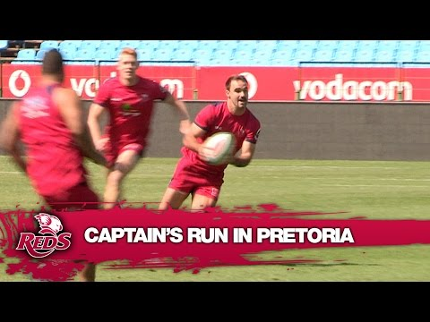 Captain's run in Pretoria