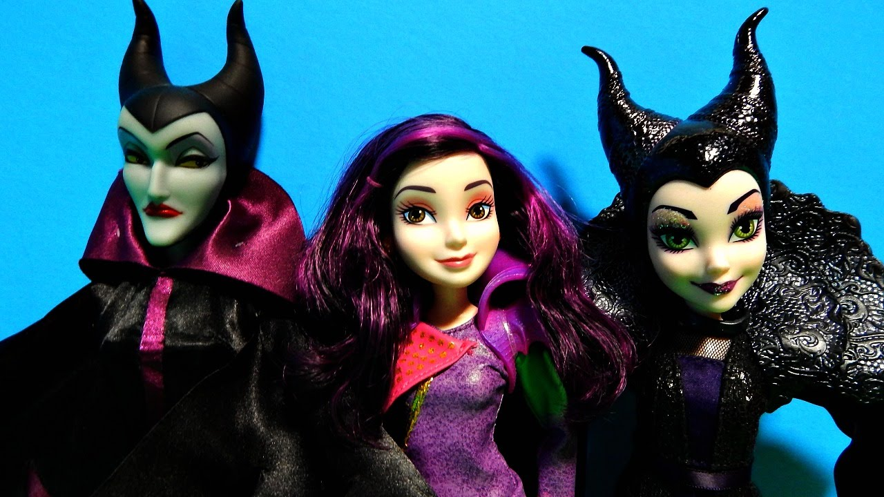 Exclusive Disney Descendants Maleficent Mal Isle Of The Lost Dolls Unboxing Toy Review