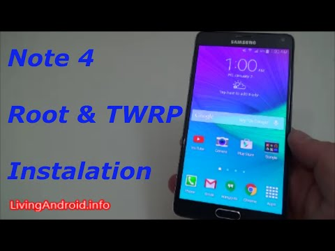 Root and Install TWRP Recovery on Note 4! [Any Variant]