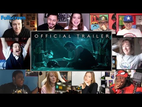Avengers: End Game - Official Trailer REACTIONS MASHUP