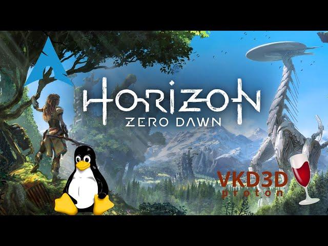 Horizon: Zero Dawn - vkd3d-proton/ProtonGE   Linux Gameplay
