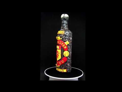 Football Club Celebration Bottle - Manchester United