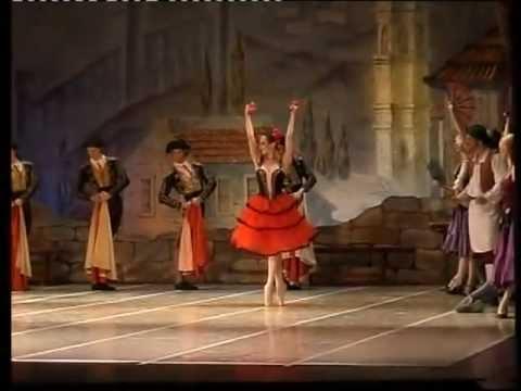 Ballet Don Quixote. Kitri variation