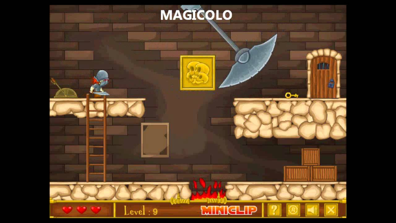 castle flash game