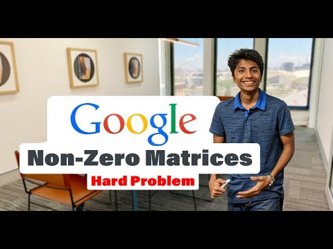 AlgoWorkout: Google Interview Question on Matrices