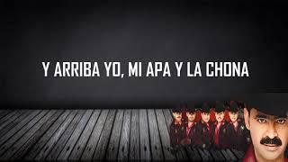La Chona (Letra) - Los Tucanes de Tijuana HD
