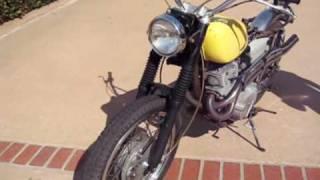 67 Honda Scrambler 305