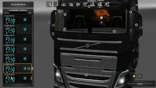 Here you have a nice pack with lights for all original scs trucks, Scania T Scania 4 Rjl and Volvo FH 2013,Volvo fh 2009,Daf xf E6 Ohaha,Scania 143m Ekualizer