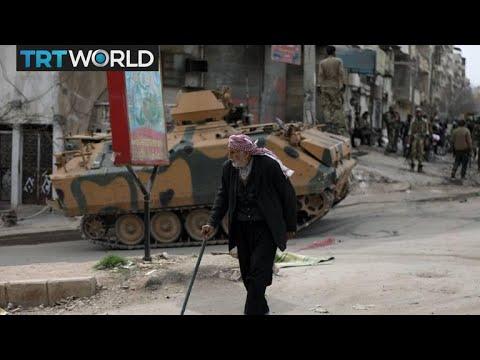 Turkey's Border Mission: Turkey set up aid distribution centers in Afrin