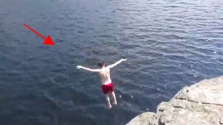 CLIFF JUMPING GONE RIGHT!