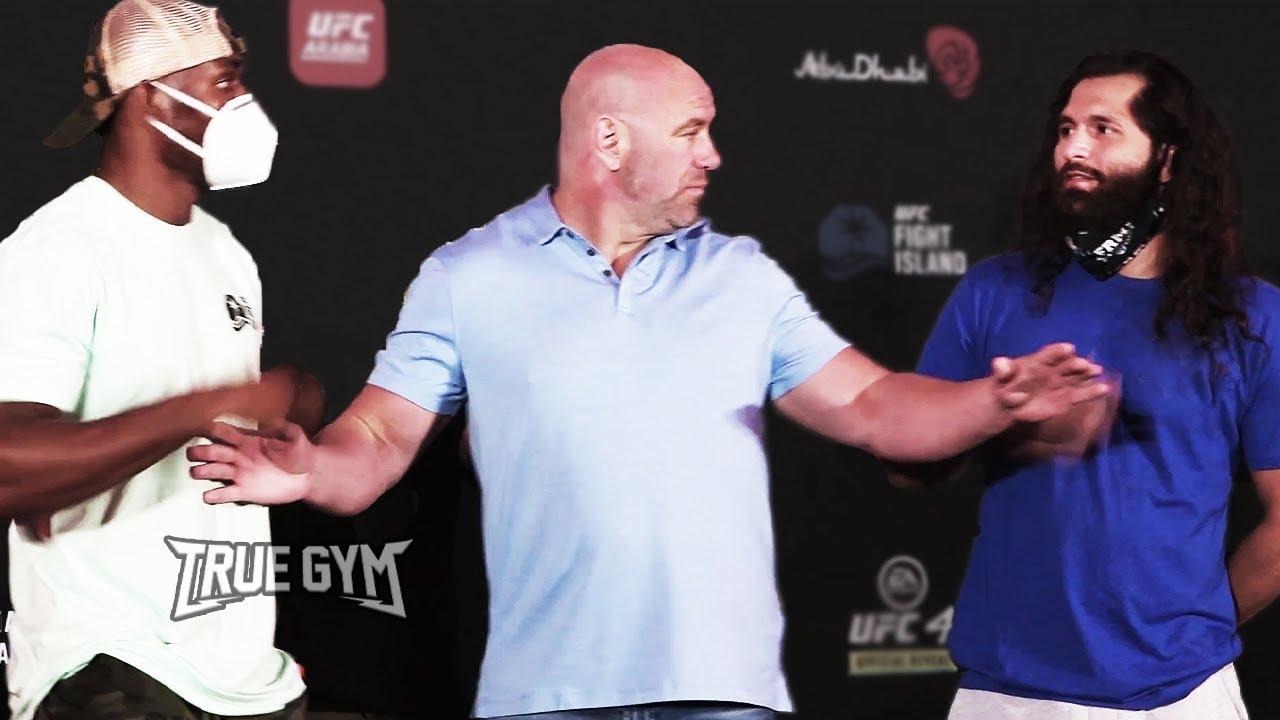 UFC 251 Битвы взглядов перед боем / РУССКАЯ ОЗВУЧКА / Усман - Масвидаль, Ян - Альдо