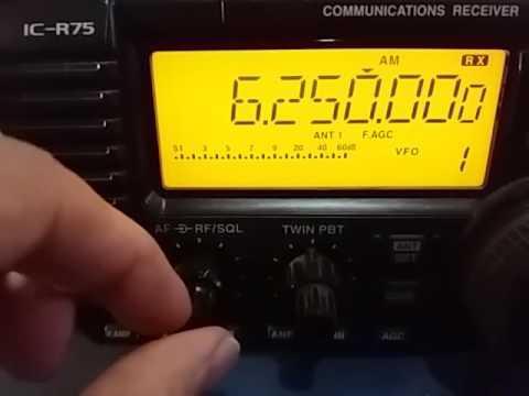 6250 kHz Radio Malabo, Malabo GUINEA EQUATORIAL / Video 1