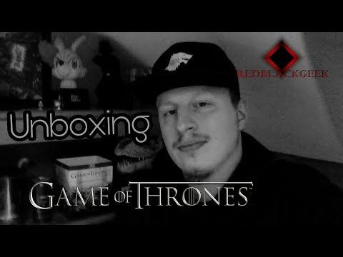 Unboxing Game Of Thrones Coffret Bluray Saison 1-7
