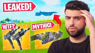 The LEAKED Mythics Coṁing to Fortnite Season 4...