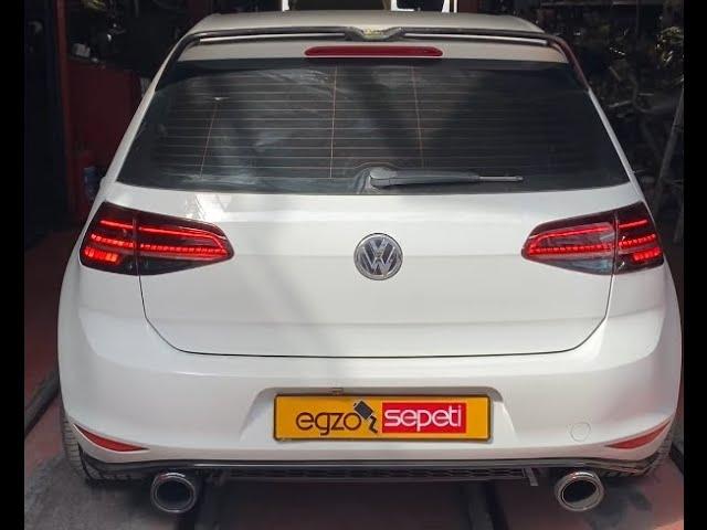 VW GOLF 7 GTİ DÖNÜŞÜM