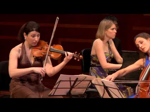 """Cortona Trio plays Dvorak """"Dumky"""" Trio, iii."""