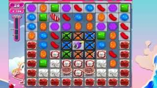Candy Crush Saga Level 888 No Booster 3* 2 moves left