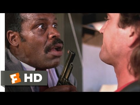 Lethal Weapon 510 Movie CLIP  You Really Are Crazy 1987 HD