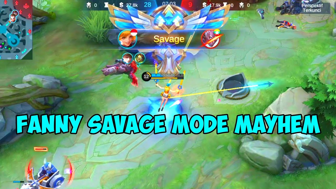 Fanny Savage Mode Mayhem Mobile Legends