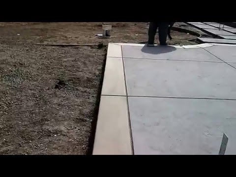 Veterans concrete,...finished stamp work pre pwr. wash