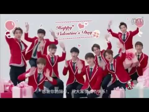 150209 EXO Valentine's Day Message + 150210 EXO For MCM + BTS