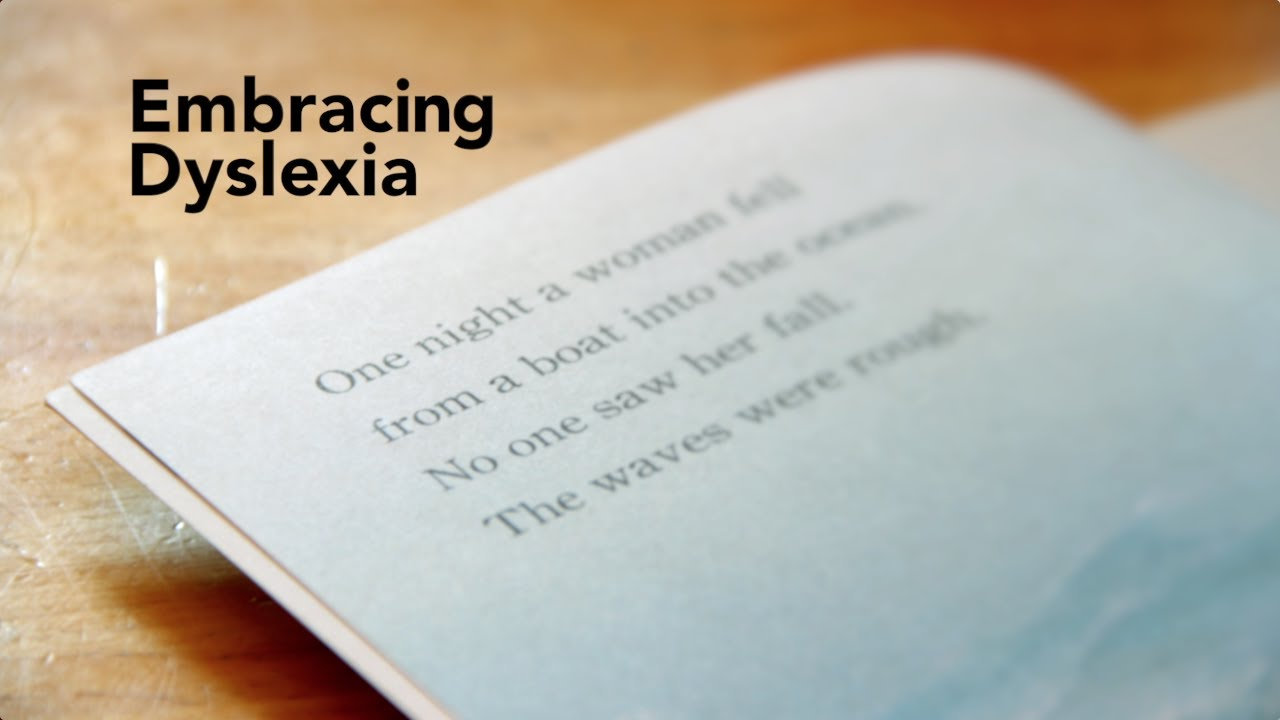 Fixing Failure Model Of Dyslexia >> Embracing Dyslexia Youtube