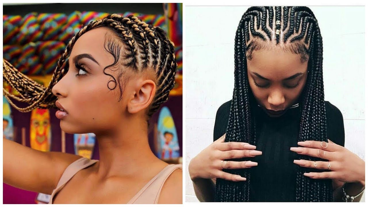 🔥 amazing cornrow hairstyles compilation 2019 | hair braiding styles | african braids hairstyles