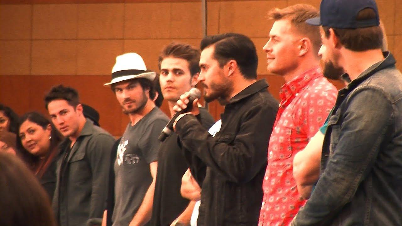 Loveblood 2015 a roma gli attori di the vampire diaries e the loveblood 2015 a roma gli attori di the vampire diaries e the originals youtube m4hsunfo