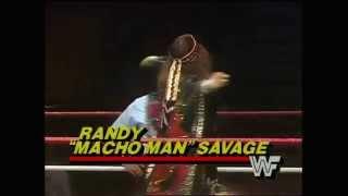 """Macho Man"" Randy Savage WWE Debut"