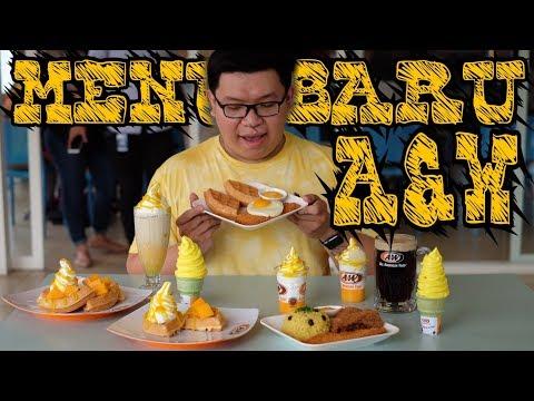 [FOOD VLOG #003] - MENU BARU A&W || @AWRestoranid
