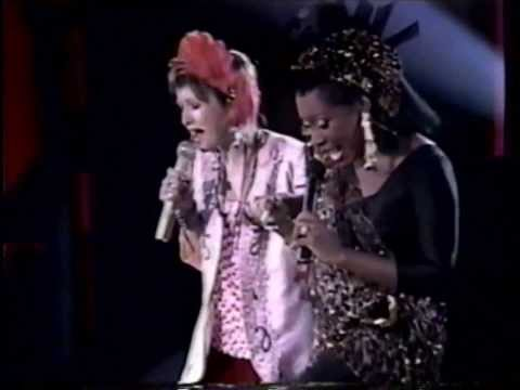 Copy of Two For The Show: Patti LaBelle & Cyndi Lauper Live TV Special - Rare Online Music Video