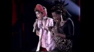 "Patti Labelle Cyndi Lauper - LIVE ""Lady Marmalade"" and ""Time after Time"""