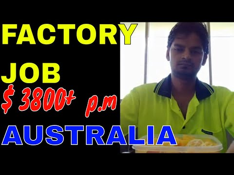 MY Factory Job In Australia | 5th Job In 3rd Month In Australia | How To Get A Job In Australia