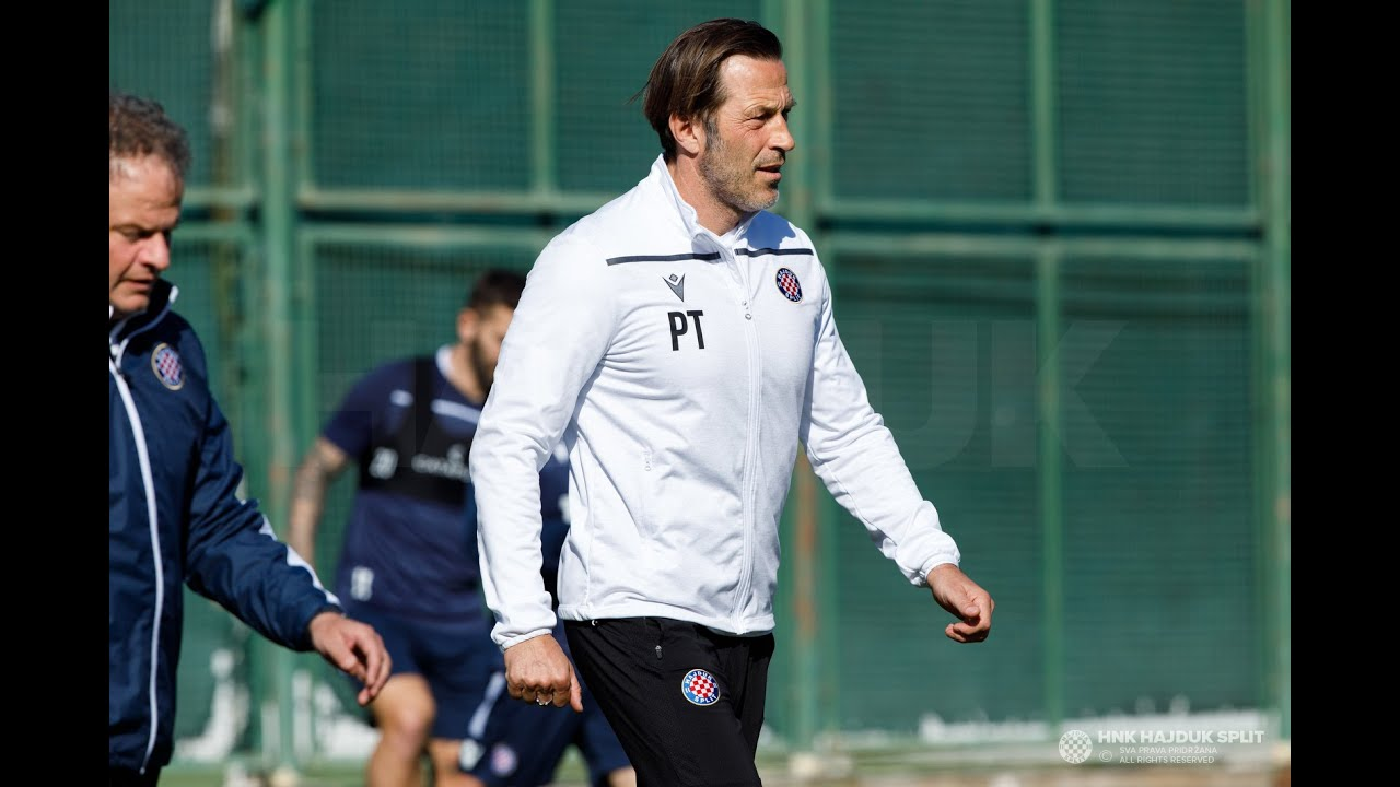 Trener Tramezzani uoči Hajduk - Dinamo