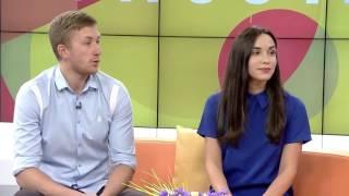 "SMM case в передаче ""Утро с ТВ-5"". Старт Украины на паралимпиаде в Рио 2016"