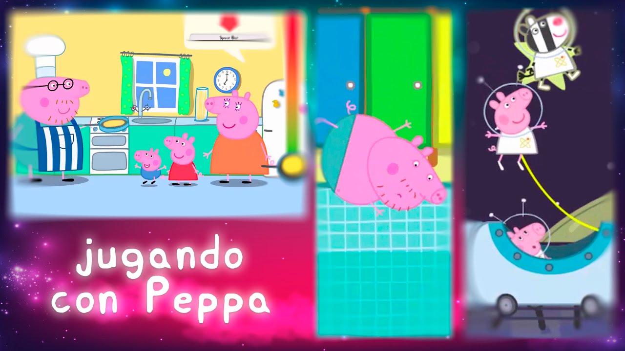 Jugando Con La Familia Pig Juegos De Peppa Pig Online Juegos