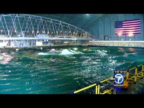 Naval Surface Warfare Center unveils new wave testing basin