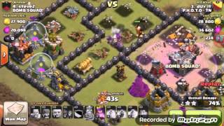 R.I.P domatori|Guerra tra clan|Clash of clans