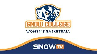 Snow College Womens Basketball vs CNCC 1-20-18