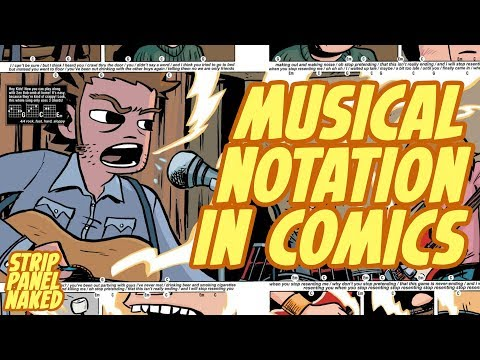 Musical Notation in Comics | Strip Panel Naked