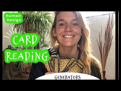 Card Pull For Human Design Generators || Your Message For 2019-2020 ★ ☾