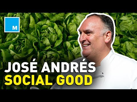Chef José Andrés Mission To End World Hunger