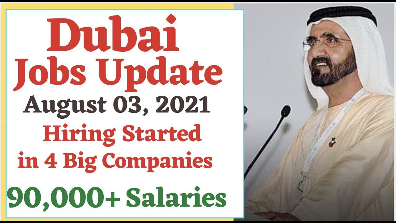 Dubai Latest Jobs Update 2021, Dubai Airport, Emirates Group & Catering Careers, Etihad Airline