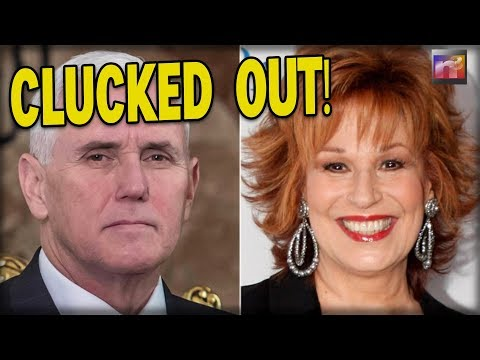 After Joy Behar Calls Christianity a 'Mental Illness,' Mike Pence Hits Back Twice as Hard