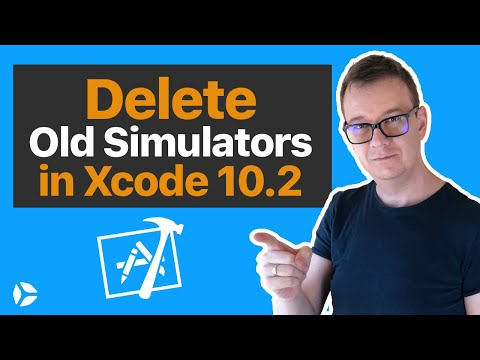 Delete Old Simulators in Xcode 10 2 - YouTube