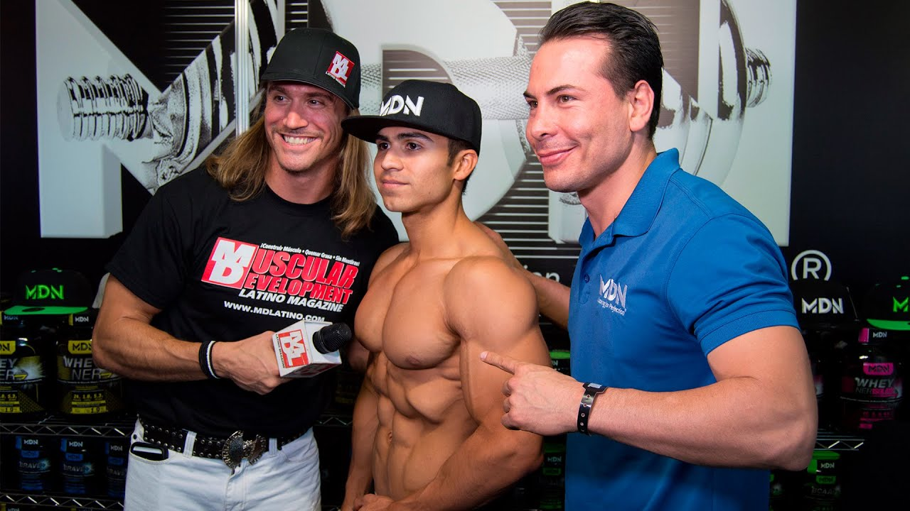 MR MEXICO 2015 MDNSPORT ENTREVISTA MUSCULAR DEVELOPMENT