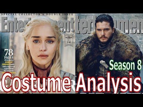 Game Of Thrones Season 8 Costume Analysis & Predictions - Part 2