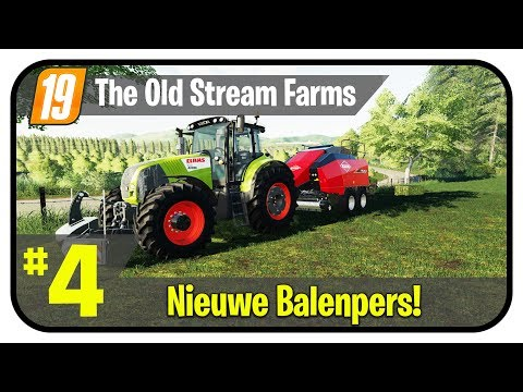 📸 Nieuwe balenpers! - The Old Stream Farm #4 - Farming Simul
