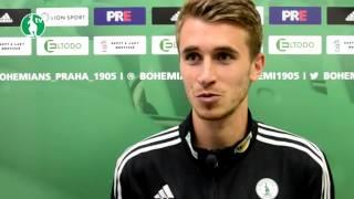 24. 9. 2016 - Bohemians Praha 1905 - 1.FK Příbram 1:0 (0:0) - pozápasové rozhovory