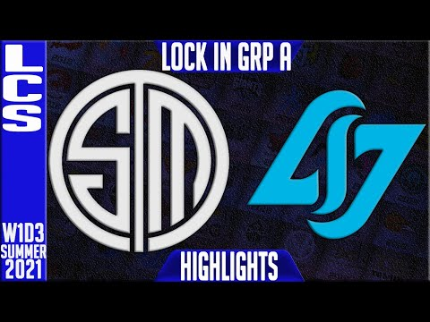 TSM vs CLG Highlights | LCS Spring 2021 W1D3 Group A Lock In | Team Solomid vs Counter Logic Gaming